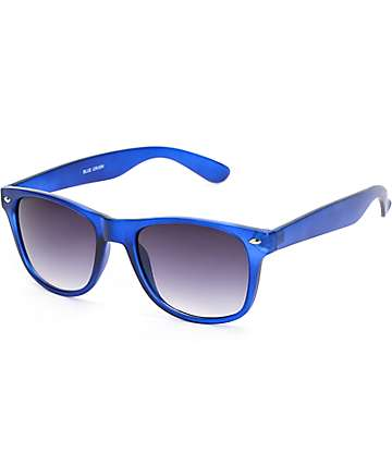 Classic Blue Crush Crystal Sunglasses