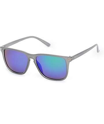 Classic Blue Revo Sunglasses