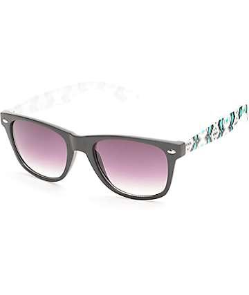 Classic Blue Steel Aztec Sunglasses