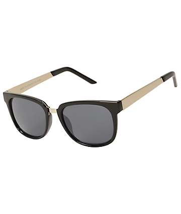 Classic Large Silver Arms Sunglasses