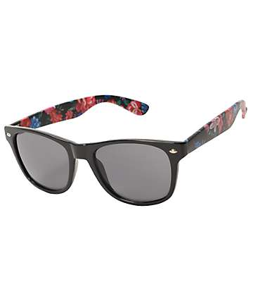 Classic Mable Floral Arm Sunglasses