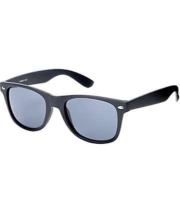Classic Matte Black Sunglasses