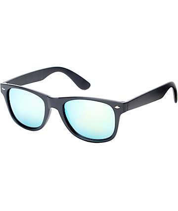 Classic Rubber Slap Black Sunglasses