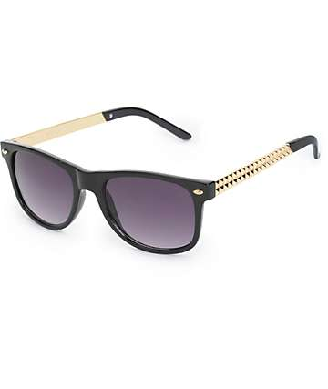 Classic Sing Song Studded Sunglasses