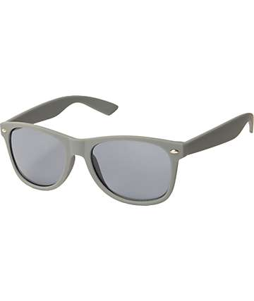 Classic Smooth Operator Matte Grey Sunglasses
