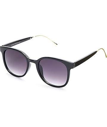 Classic Squared Off Black Sunglasses