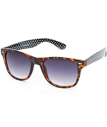 Classic Starry Night Tortoise Sunglasses
