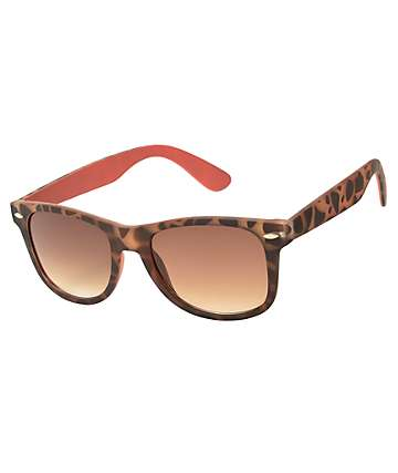 Classic Tortoise Shell & Coral Sunglasses