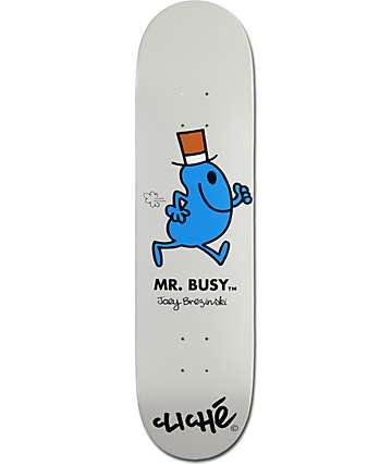 "Cliche Brezinski Mr. Busy 8.0""  Skateboard Deck"
