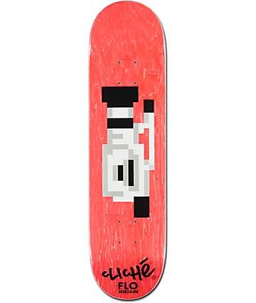"Cliche Flo VX-EL 1000 8.0""  Skateboard Deck"