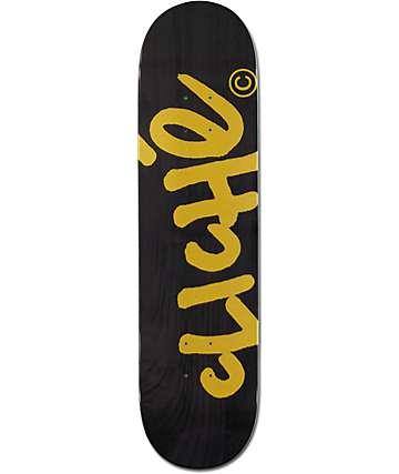 """Cliche Handwritten 8.0"""" Skateboard Deck"""