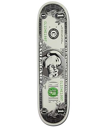 "Cliche Hart Dollar Bill 8.0"" Skateboard Deck"