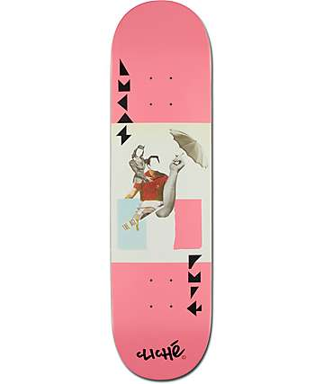 """Cliche Puig Tierney Series 8.25""""  Skateboard Deck"""