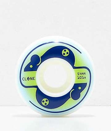Clone Wheels by AWS Mice 54mm 101a Skateboard Wheels