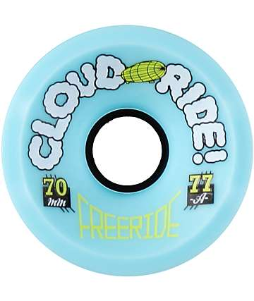 Cloud Ride Freeride 70mm 77a Longboard Wheels