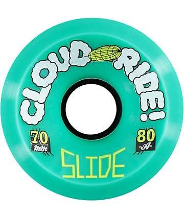 Cloud Ride Slide 70mm 80a Longboard Wheels