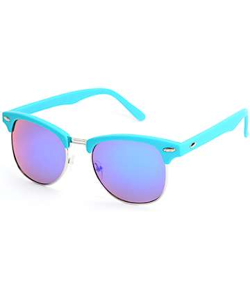 Club Master Blue Revo Sunglasses
