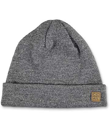 Coal Harbour Charcoal Beanie