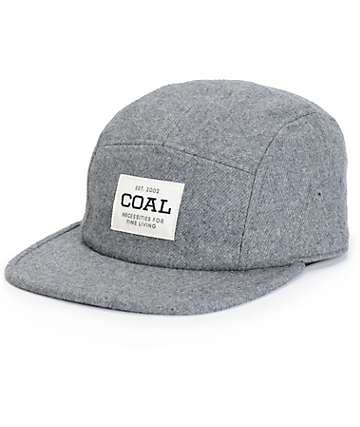 Coal Richmond Flannel 5 Panel Hat