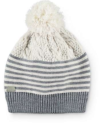 Coal Sweater Heather Grey Pom Beanie