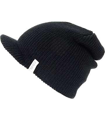 Coal The Basic gorro negro con visera