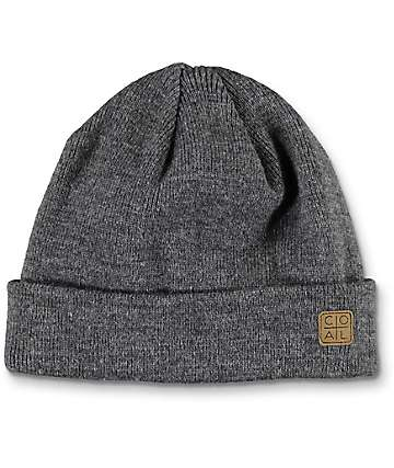 Coal The Harbor Heather Charcoal Beanie