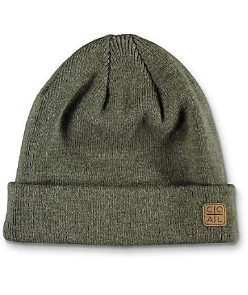 Coal The Harbor Heather Olive Beanie