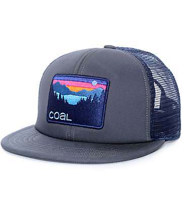 Coal The Hauler gorra trucker en color carbón