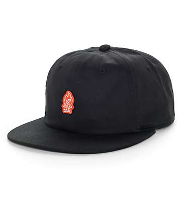 Coal The Junior Black Snapback Hat