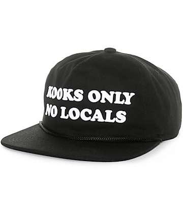 Coal The Kooks gorra snapback en negro