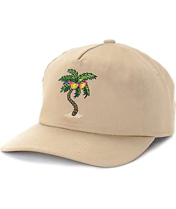 Coal The Oasis Unconstructed Khaki Snapback Hat