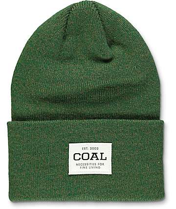 Coal Uniform Forest Green Marled Beanie
