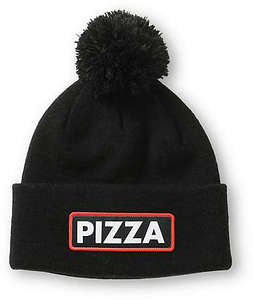 Coal Vice Pizza Cuff Pom Beanie