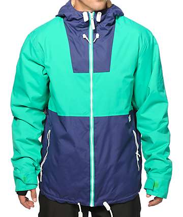 Colour Wear Block 10K Snowboard Jacket