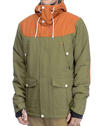 Colour Wear Charge Loden 10K Snowboard Jacket