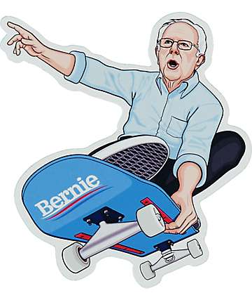 Commonwealth Bernie Skates Sticker