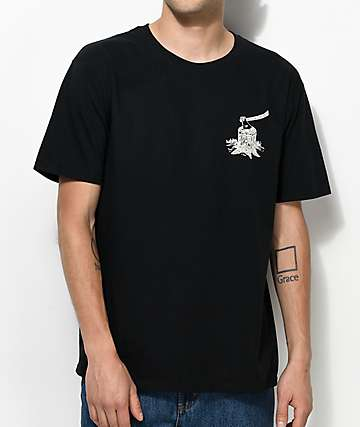 Concrete Native Lumber Black T-Shirt