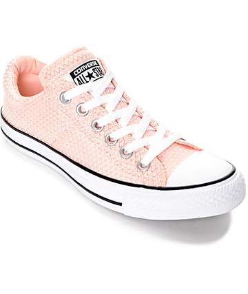 Converse  Chuck Taylor All Star Madison Vapor Pink Shoes (Womens)