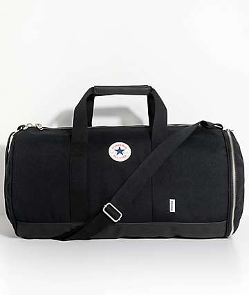 Converse All Star Barrel Black Duffel Bag