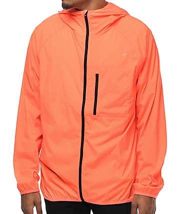 Converse Blur chaqueta de nylon en color coral