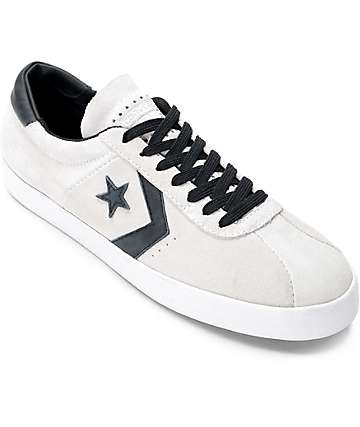 Converse Breakpoint Pro Ox White, Black & White Skate Shoes
