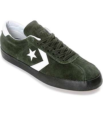 Converse Breakpoint Pro zapatos de skate en verde oscuro