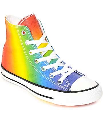 Converse CTAS Hi Pride Pack zapatos en blanco y multi