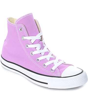 Converse CTAS Hi zapatos en color fusia