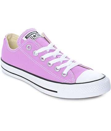Converse CTAS Ox zapatos en color fusia