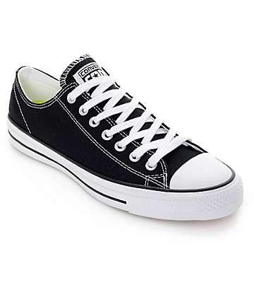 Converse CTAS Pro Black & White Canvas Shoes