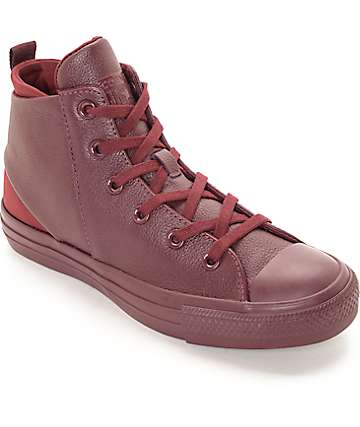 Converse CTAS Sloane Hi Bordeaux Mono Women's Shoes
