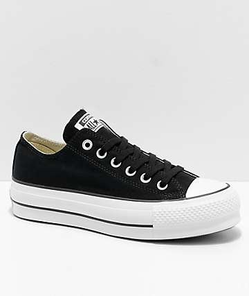 Converse Chuck Taylor All Star Lift Black, Garnet & White Shoes