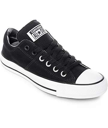 Converse Chuck Taylor All Star Ox Madison Black & White Shoes
