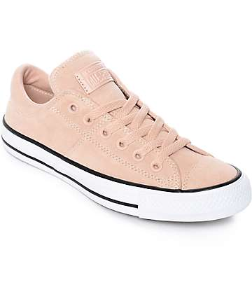 Converse Chuck Taylor All Star Ox Madison zapatos de ante rosa